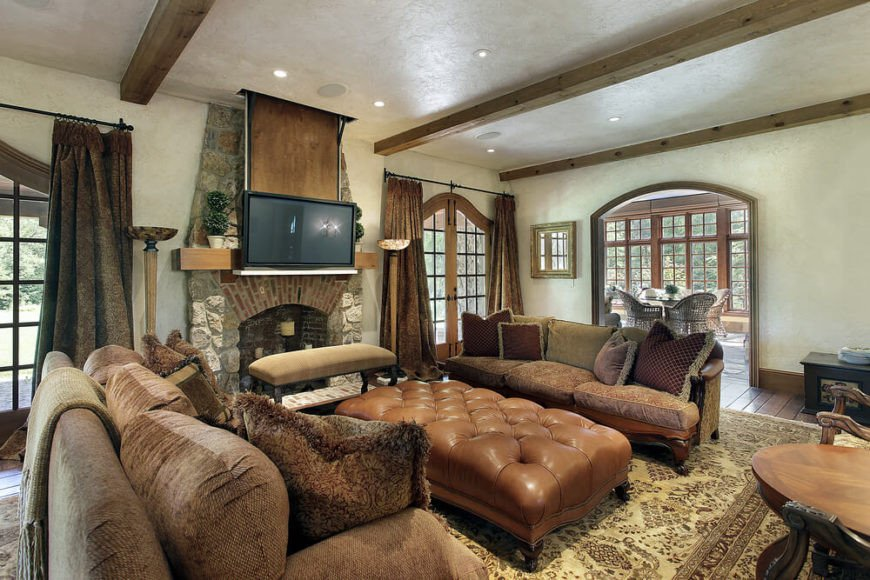 Comfortable Living Room Fireplace Unique 25 Cozy Living Rooms with Fireplaces