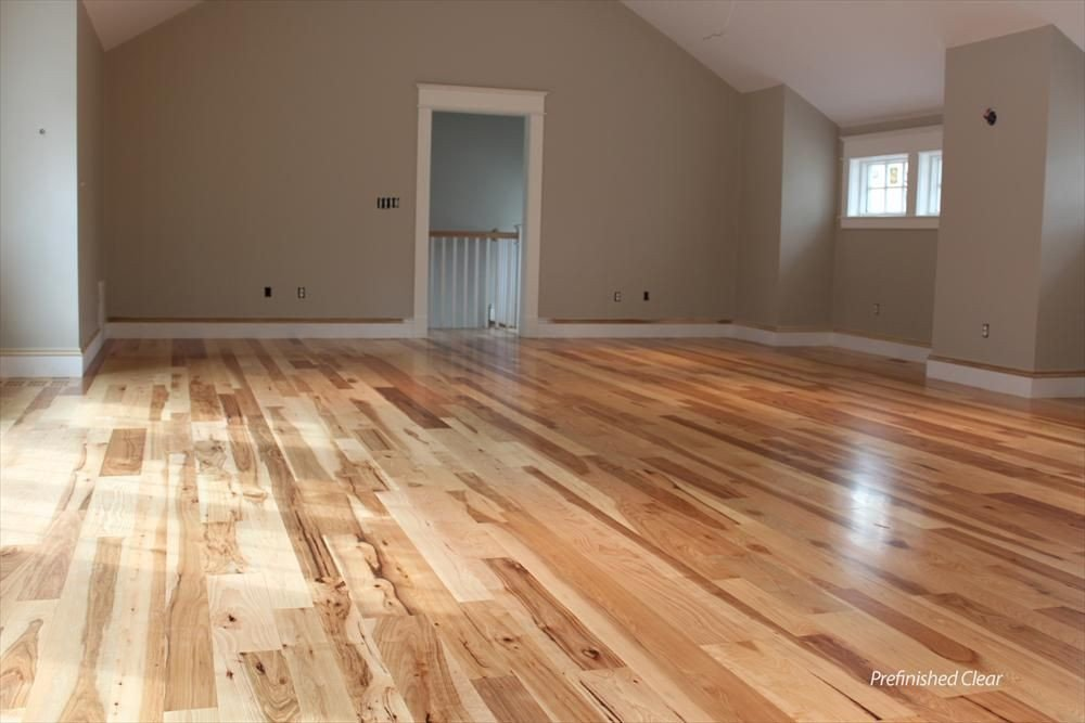 Comfortable Living Room Hickory Floor Elegant Tungston Hardwood Unfinished Hickory New Homes