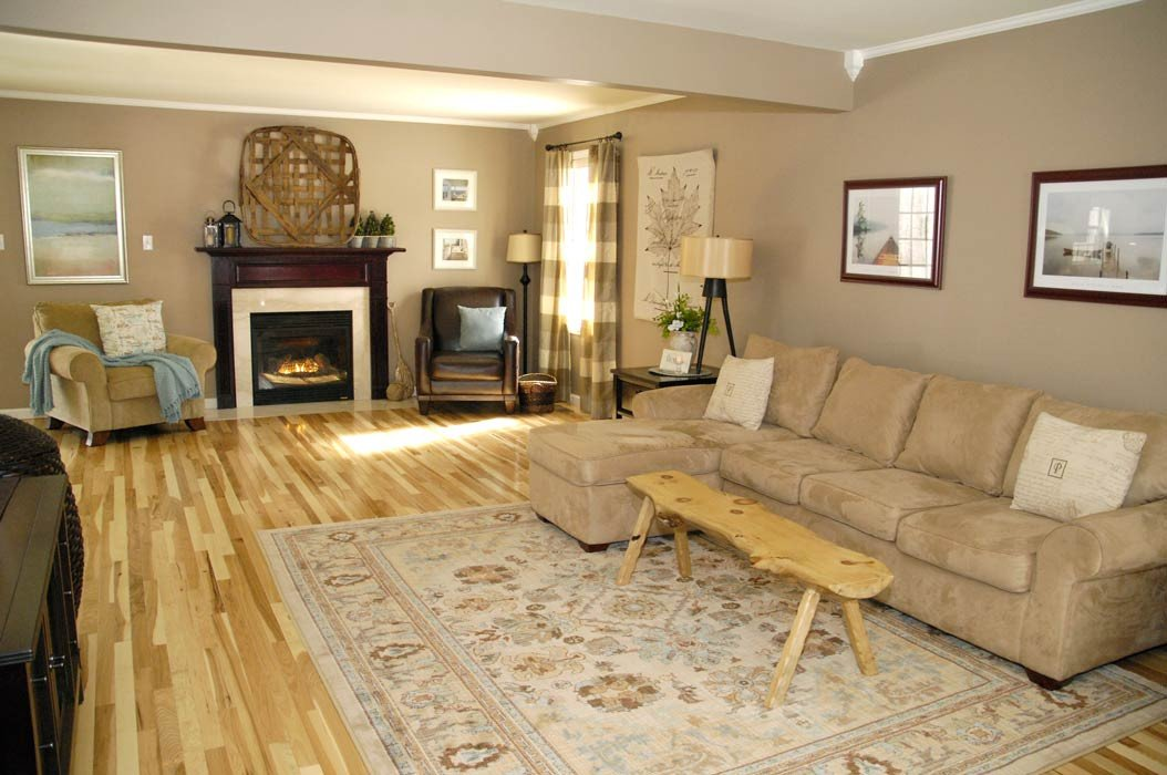 Comfortable Living Room Hickory Floor Fresh Hickory Floor Reveal