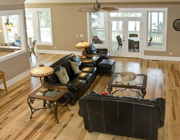 Comfortable Living Room Hickory Floor Fresh Hickory Flooring by Shamrock Plank Flooring Flooring