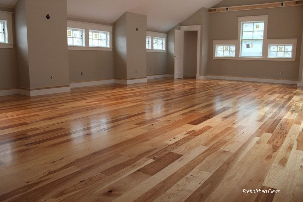 Comfortable Living Room Hickory Floor Luxury Tungston Hardwood Unfinished Hickory In 2019 Hickory Floors