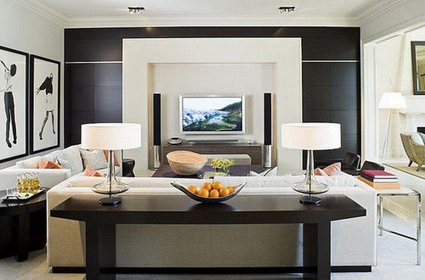 Comfortable Living Room Ideas New fortable Stylish Living Room Designs with Tv Ideas 15