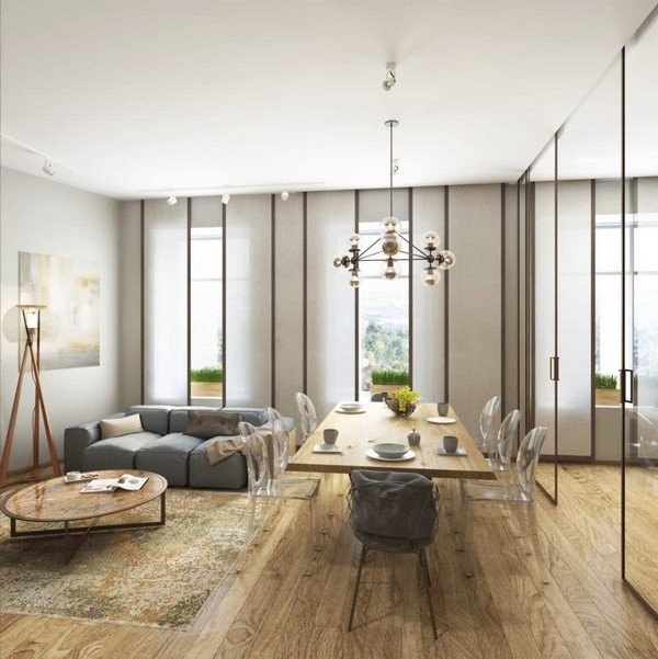 Comfortable Living Room Minimalist Best Of Cozy Minimalism Stylish Apartment for A Young Family