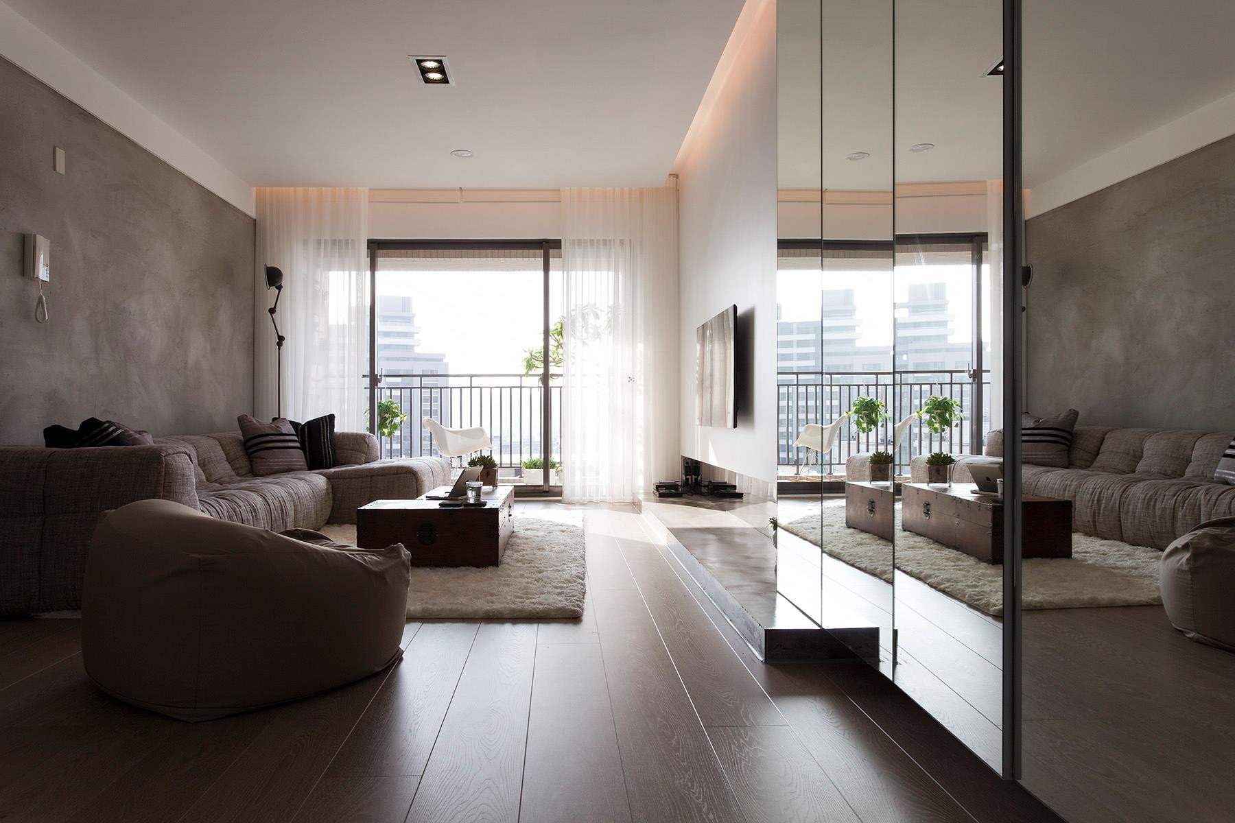 Comfortable Living Room Minimalist Fresh fortable Contemporary Decor