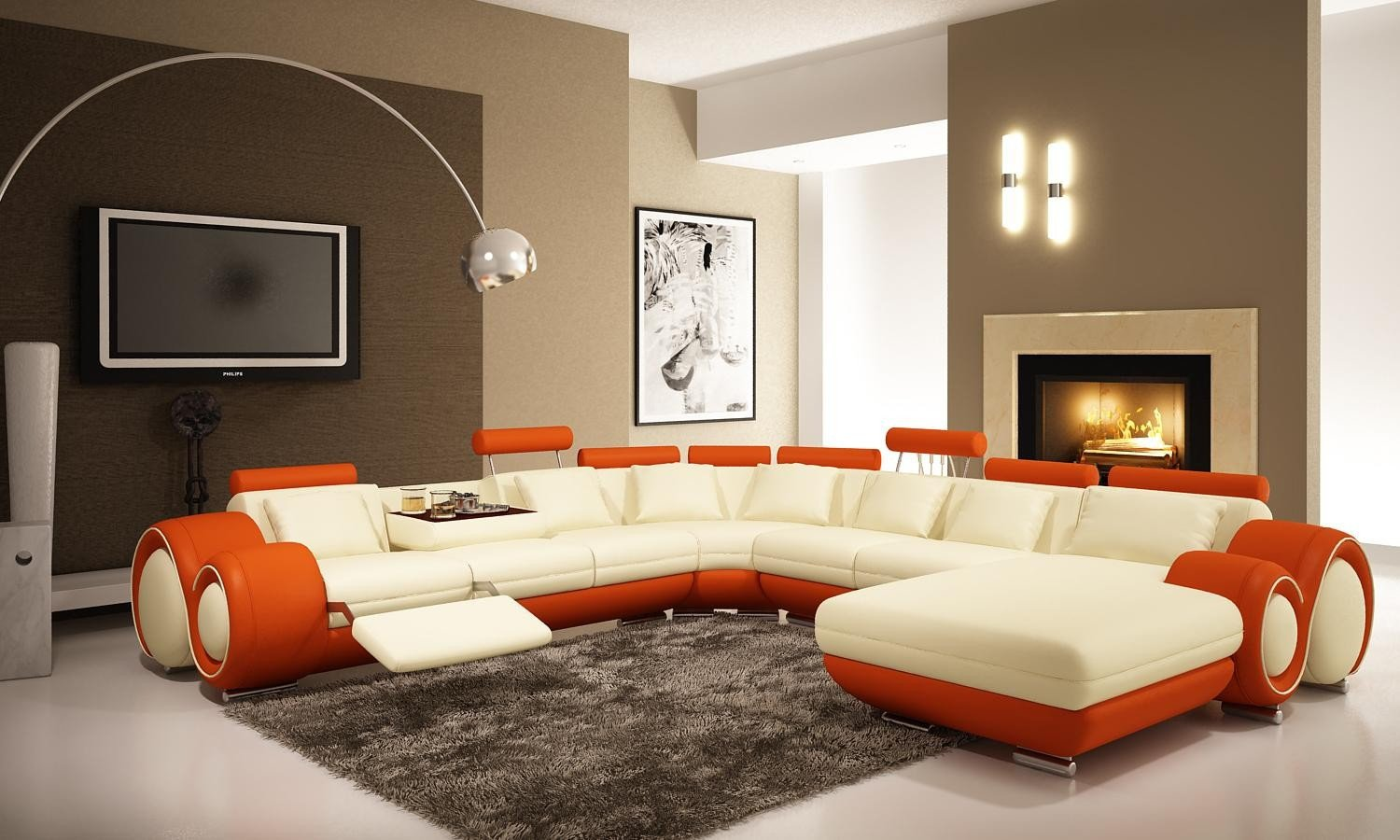 Comfortable Living Room Rugs Awesome Living Room Rugs In Plain and Patterned Designs Traba Homes