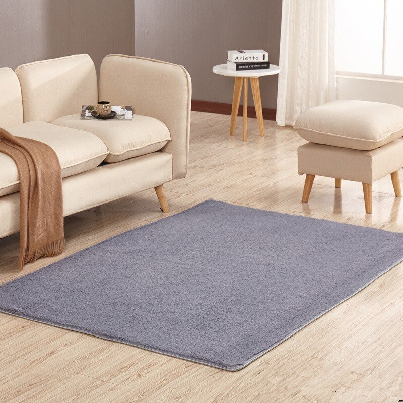 Comfortable Living Room Rugs Beautiful fortable Carpet for Living Room Non Slip Carpets the Floor soft solid Rugs for Bathroom 8