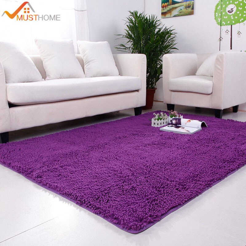 100 180cm Chenille Carpets For Living Room Home Decoration Soft and fortable Living