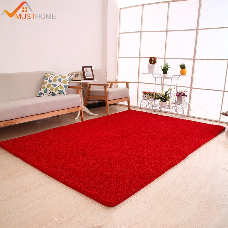 """Comfortable Living Room Rugs Elegant 70x180cm 28""""x71"""" Chenille Microfiber area Rug for Living Room Modern soft touch and fortable"""