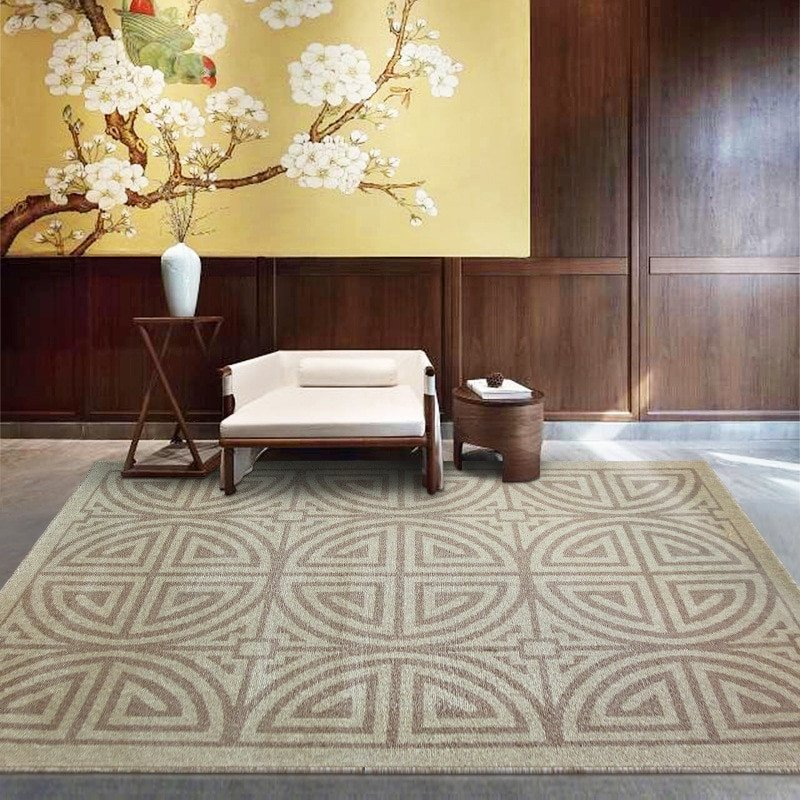 Comfortable Living Room Rugs Elegant India Imports Kilim Wool Rug Modern Simple Rugs and Carpets for Living Room Bedroom fortable