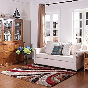 Comfortable Living Room Rugs Fresh Amazon Ustide Beautiful High Pile 3d Carpet for Living Room Study Home High Pile