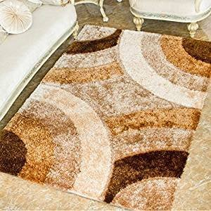 Comfortable Living Room Rugs Fresh Amazon Ustide High Pile Living Room Carpet Bight Color Geometric Pattern area Rug soft and