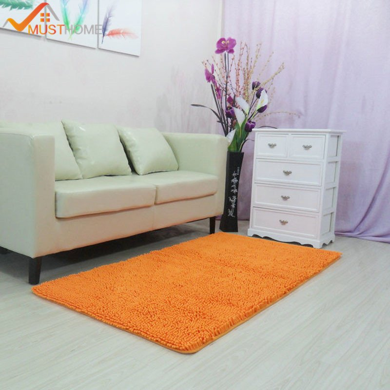 """Comfortable Living Room Rugs Inspirational 60x150cm 23""""x59"""" Chenille Carpets for Living Room fortable and Absorbent Living Room"""