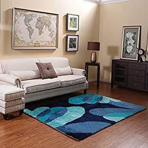 Comfortable Living Room Rugs Lovely Amazon Ustide Dark Blue Foor area Rug for Living Room High Quality Nonslip Polyester Living