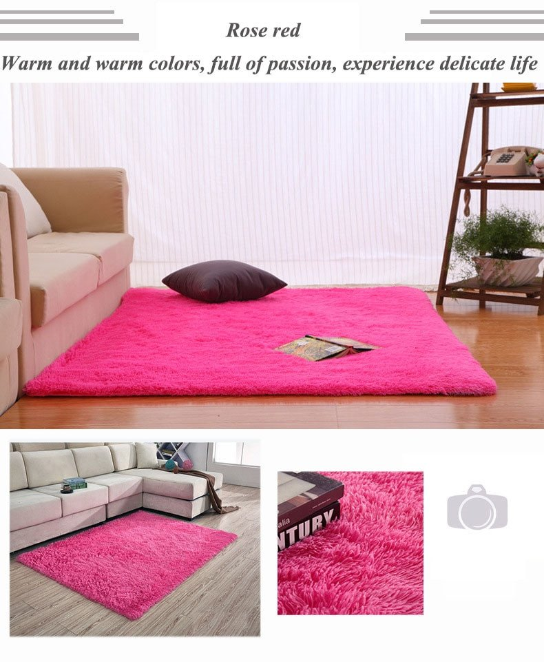 Comfortable Living Room Rugs Luxury Carpet Warm and Sweet Bedroom Carpet for Living Room Parlor Hallway soft and fortable Rug 50