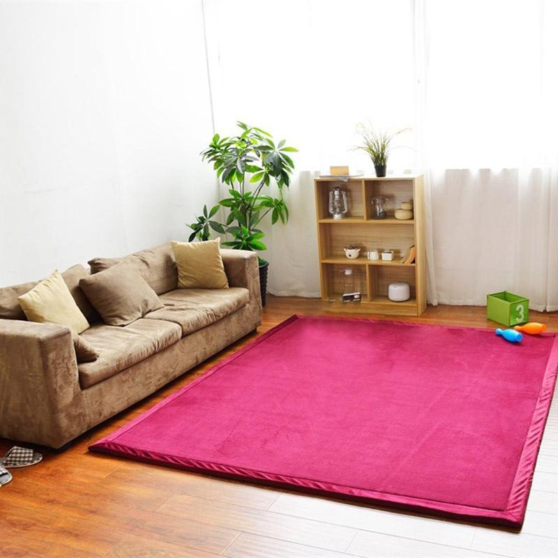 Comfortable Living Room Rugs Luxury soft Carpet Living Room Bedroom Floor Mats fortable area Rug Seven Colors