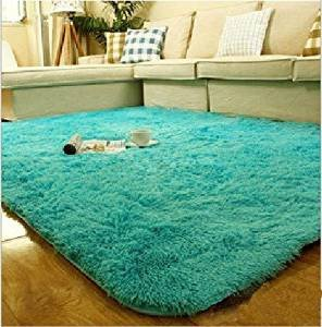 Comfortable Living Room Rugs New Amazon Nicedeco fortable Rug Approx 100 120cm 2 5cm Feather Height Fluff wholesales