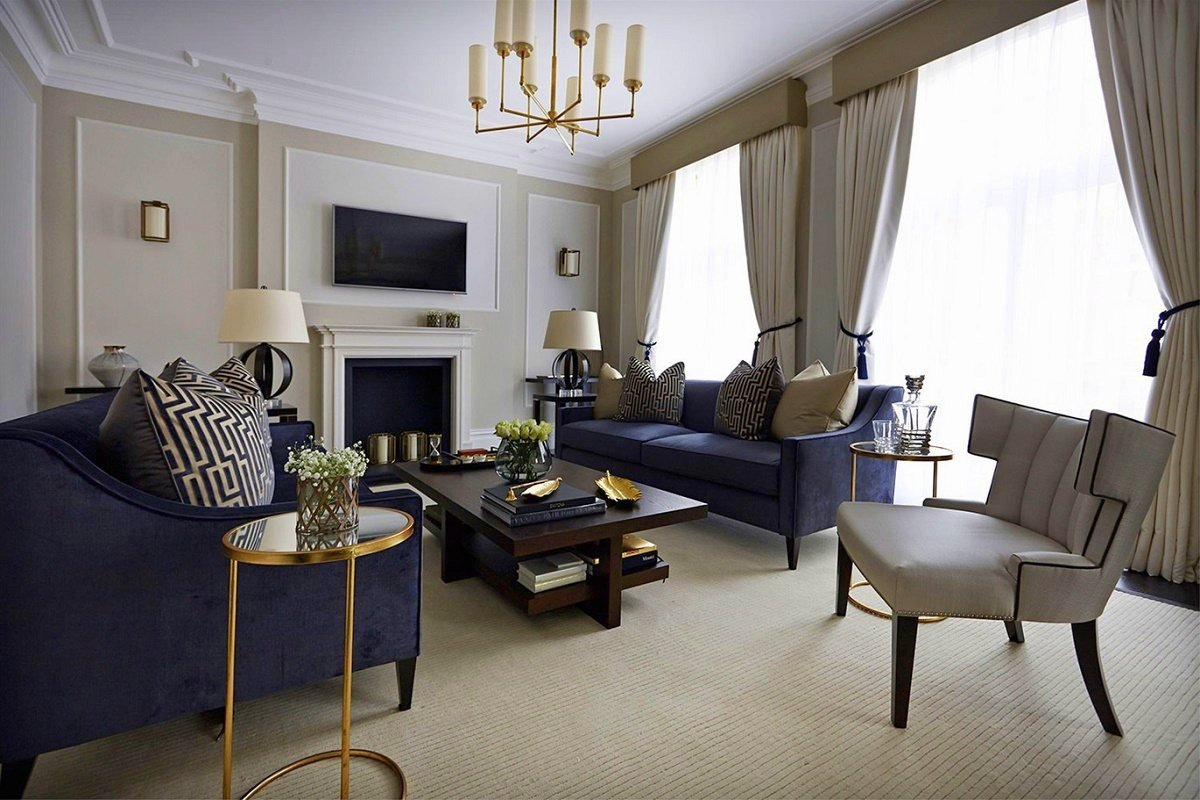 Comfortable Living Room Timeless New Timeless Interior Design Boscolo
