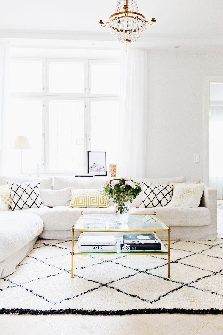 Comfortable Living Roomfor Movie Watching Beautiful Alexa Dagmar S Cozy Gold & Neutral Home In Finland