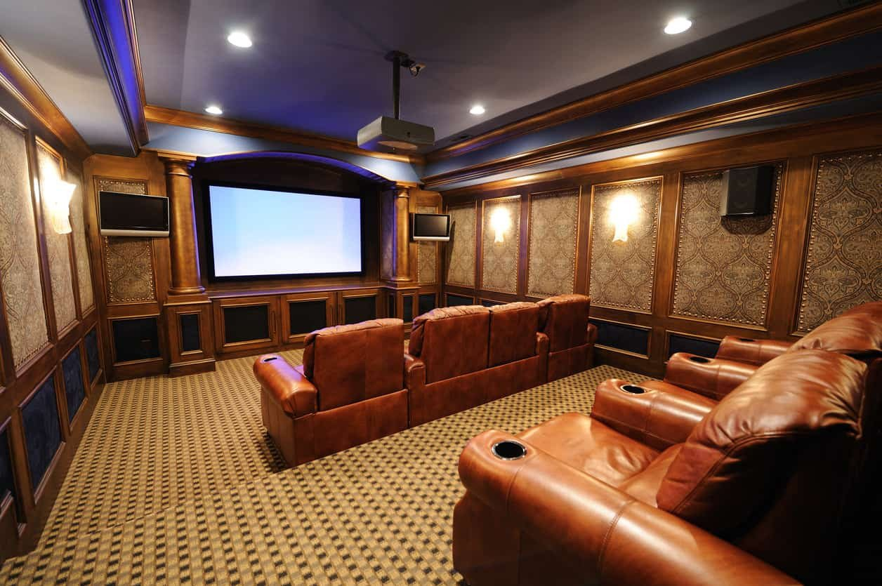 Comfortable Living Roomfor Movie Watching Unique 100 Home theater & Media Room Ideas 2019 Awesome