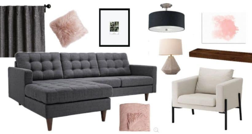 Comfortable Modern Living Room Lovely fortable Modern Living Room Mood Board