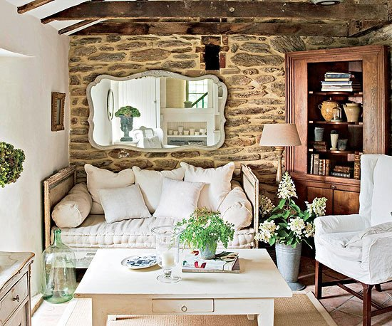 Comfortable Rustic Living Room Beautiful Modern Furniture Design 2013 Country Living Room Decorating Ideas From Bhg