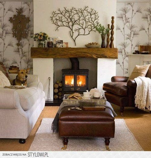 Comfortable Rustic Living Room Fresh Rustic Mantle fortable Seating Vintage Home Nice Idees Vir Huis In 2019