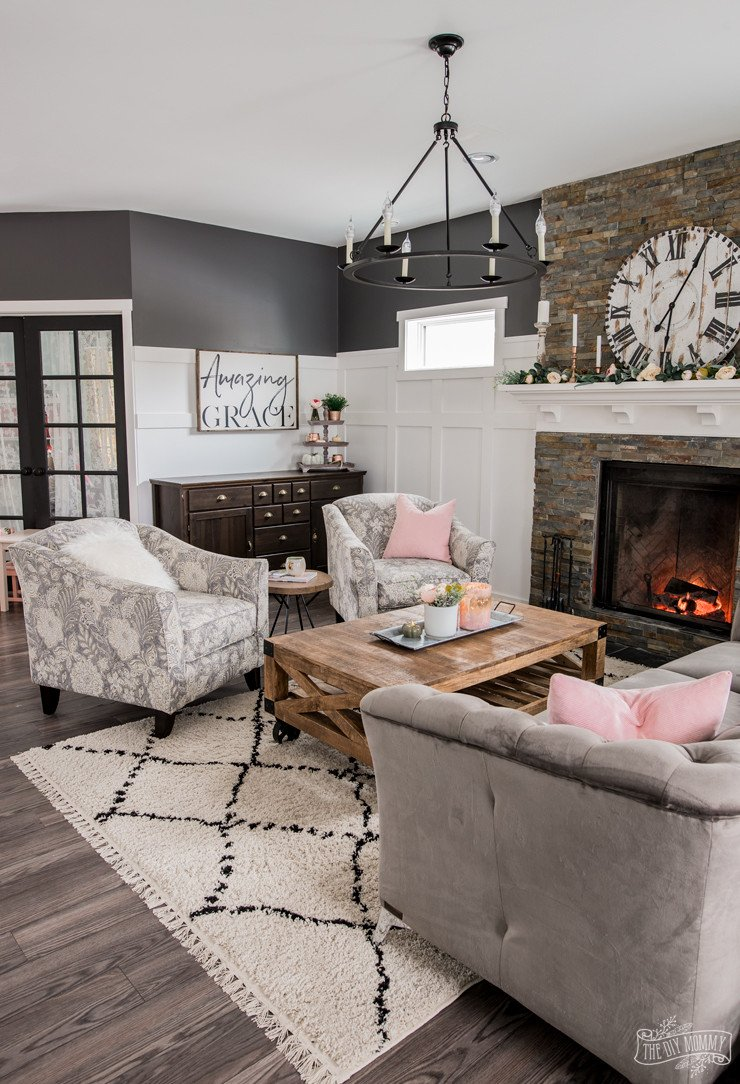 Comfortable Rustic Living Room Unique A Cozy Rustic Glam Living Room Makeover for Fall – the Diy Mommy