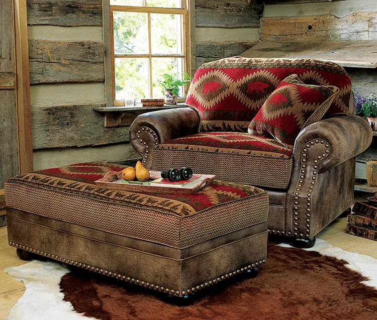 Comfortable Rustic Living Room Unique fortable Oversized Chairs with Ottoman