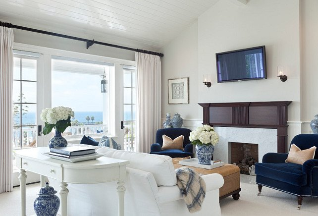 Comfortable Small Living Room New Beach House with Classic Coastal Interiors Home Bunch Interior Design Ideas