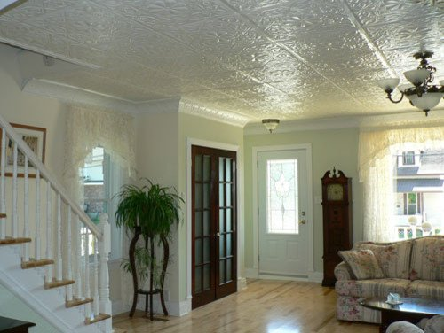 Comfortable Traditional Living Room Awesome fortable Living Room Traditional Living Room Other Metro by American Tin Ceiling Pany