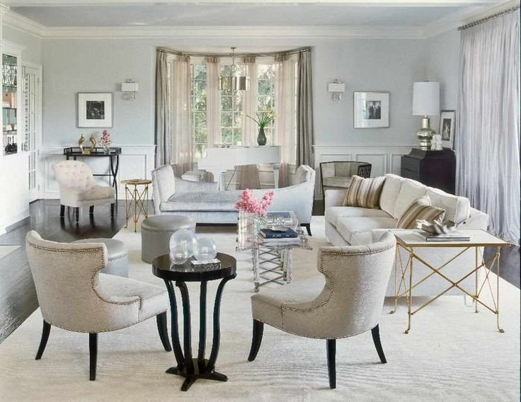 Comfortable Traditional Living Room Luxury Living Room Interior Design Ideas for Your Home