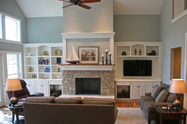 Comfortable Traditional Living Room New fortable Living Traditional Living Room Milwaukee by Interior Changes Home Design