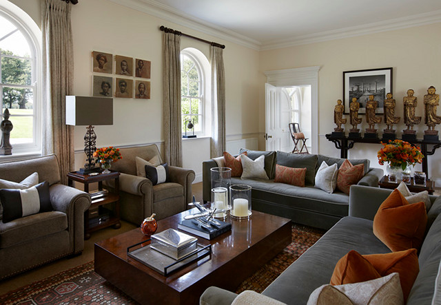 Comfortable Traditional Living Room Unique Well Designed Living Rooms Home Bunch Interior Design Ideas