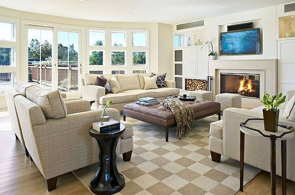 Comfy Living Room Decorating Ideas Lovely Four Tricks to Make Your Home More fortable
