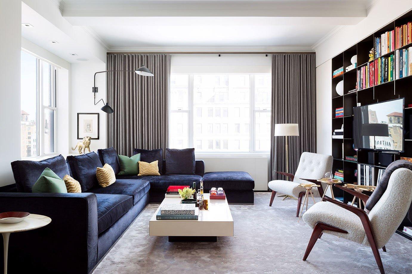 Contemporary Apartment Living Room Best Of tour A Redesigned Prewar New York Apartment