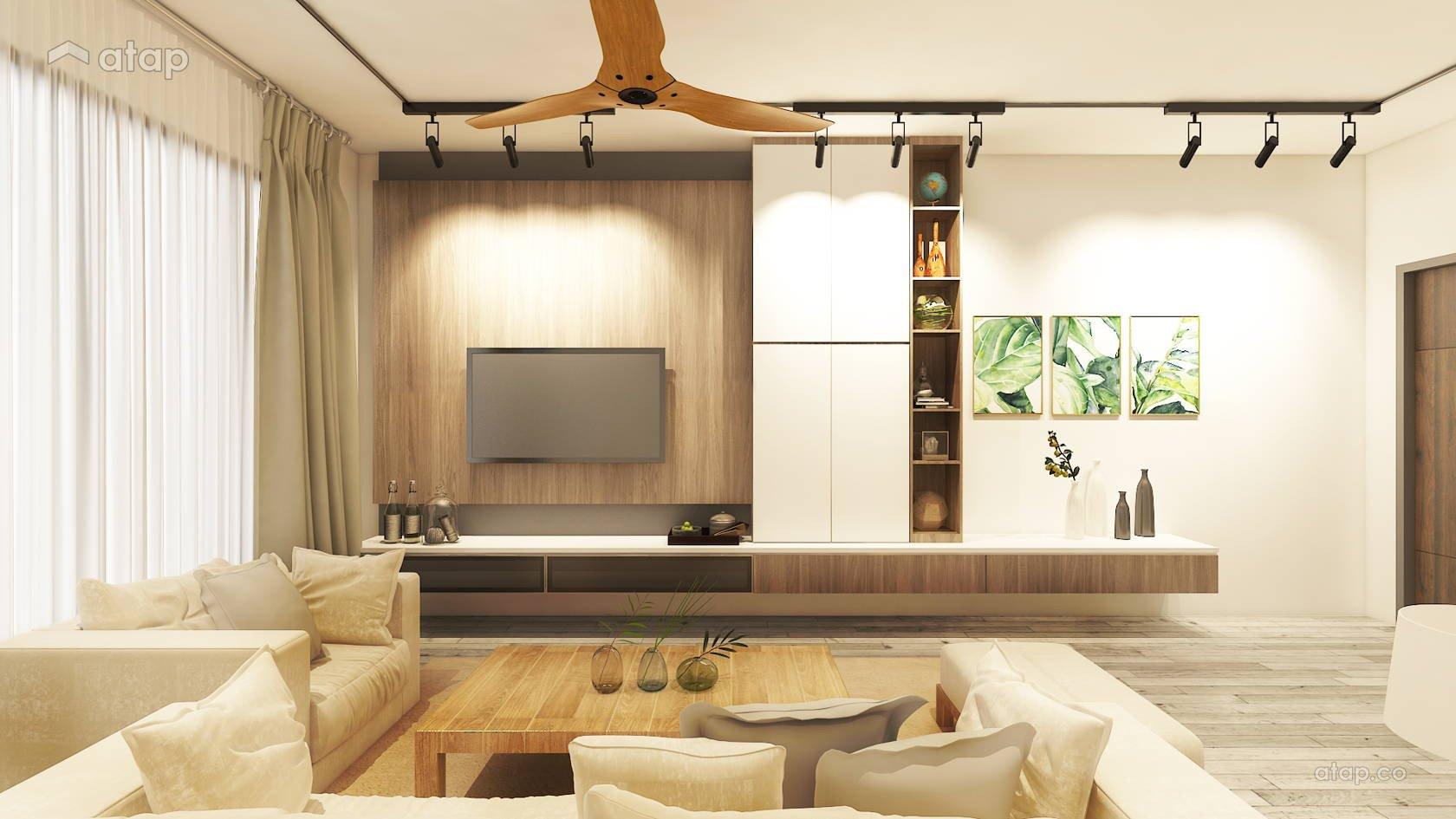 Contemporary Living Room apartment design ideas & photos Malaysia