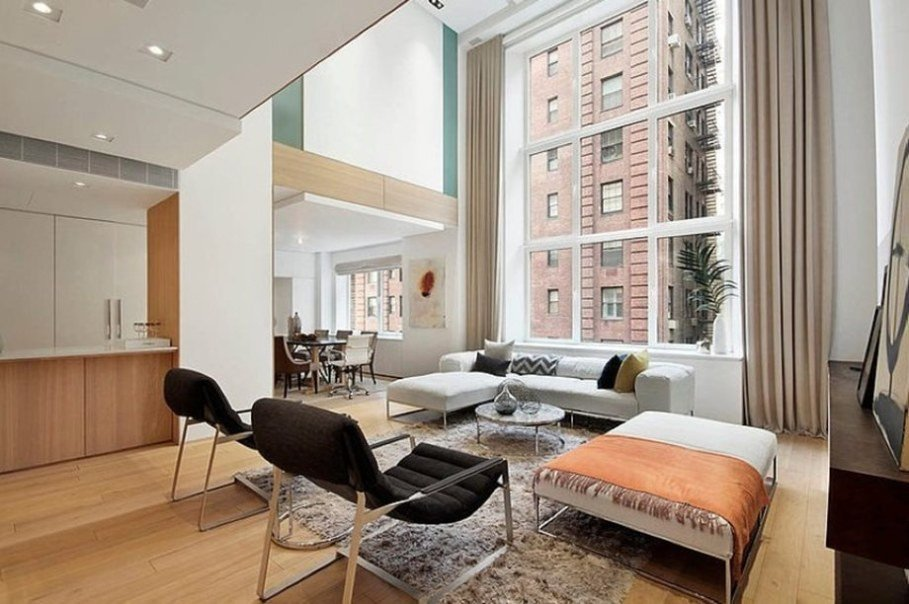 Contemporary Apartment Living Room Fresh Modern Interior Design Of A Duplex Apartment In New York