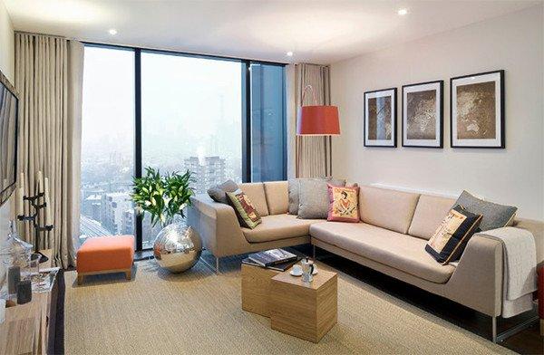 Contemporary Apartment Living Room Unique Indoor Plants Adorn 20 Contemporary Living Rooms