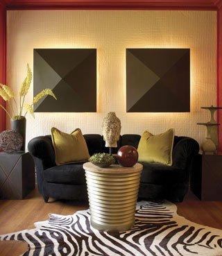 Contemporary asian Living Room New asian Contemporary Fusion asian Living Room Baltimore by Victor Liberatore Interior Design