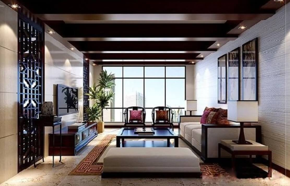 Contemporary asian Living Room New Stunning asian Living Room Designs that Will Dazzle You