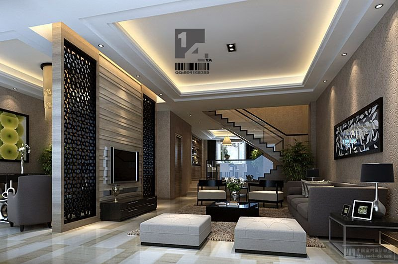 Contemporary asian Living Room Unique Modern Chinese Interior Design