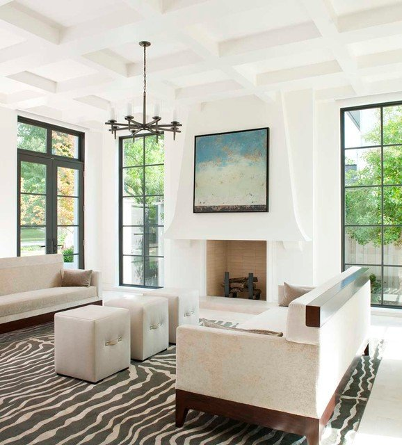 Contemporary Brown Living Room Beautiful Caruth Contemporary Living Room Dallas by Tatum Brown Custom Homes