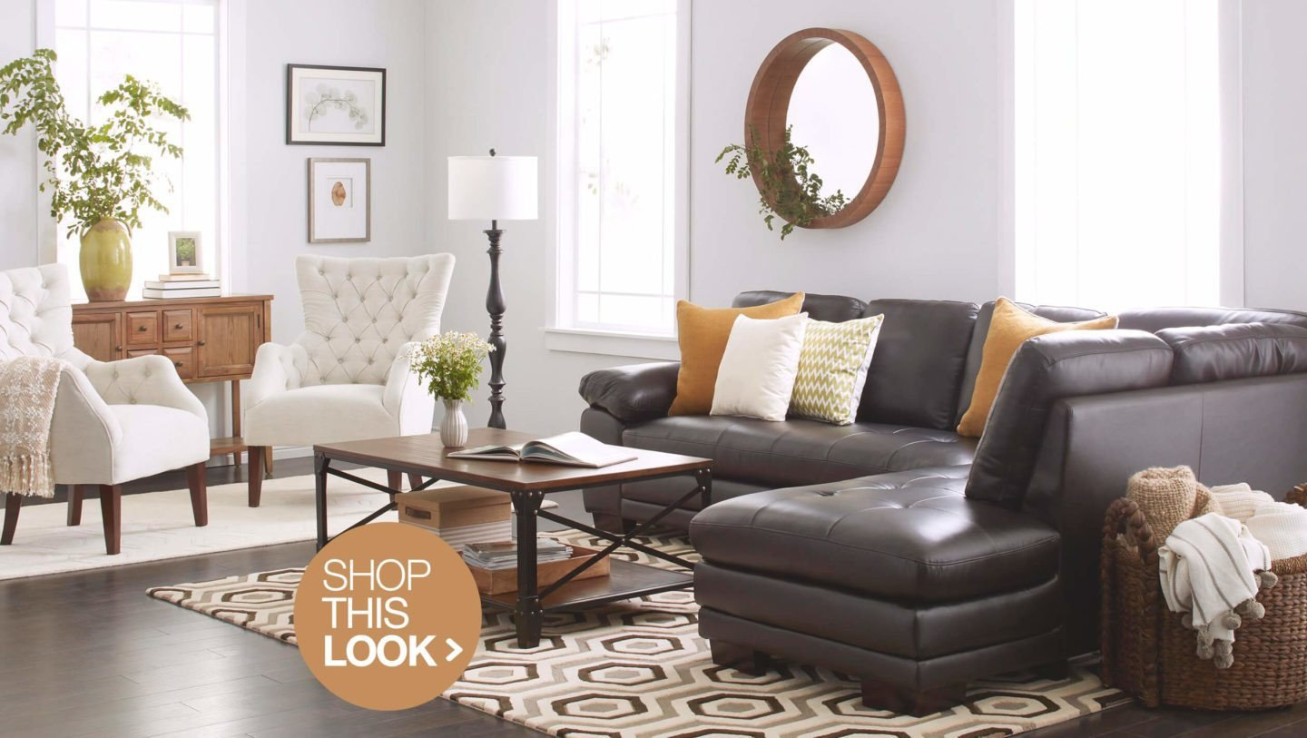 Contemporary Brown Living Room Best Of 6 Trendy Living Room Decor Ideas to Try at Home Overstock