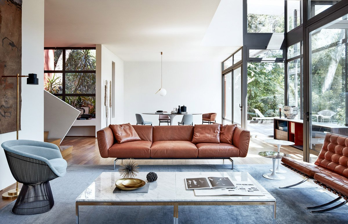 Contemporary Brown Living Room Elegant Living Rooms with Brown sofas Tips & Inspiration for Decorating them