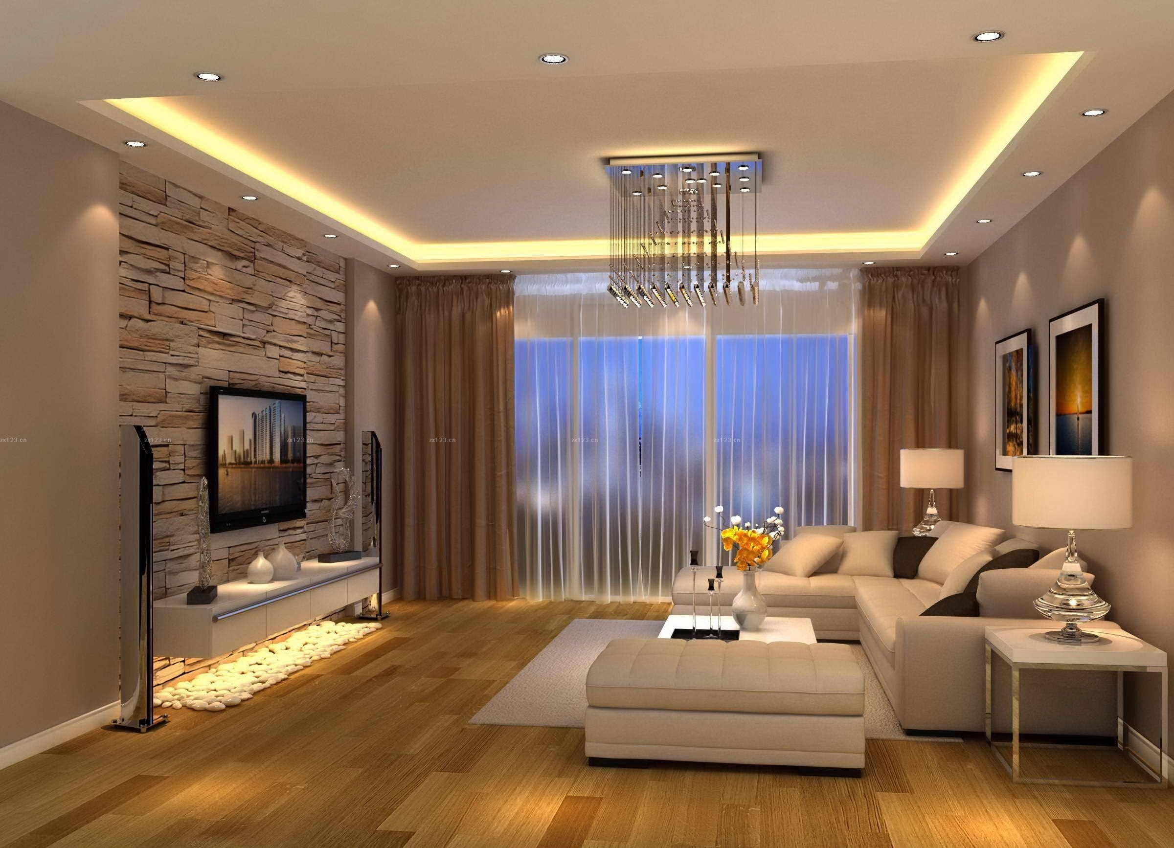 Contemporary Brown Living Room New Modern Living Room Brown Design …