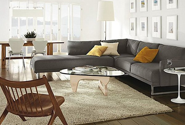 Contemporary Chic Living Room Awesome How to Decorate A Living Room