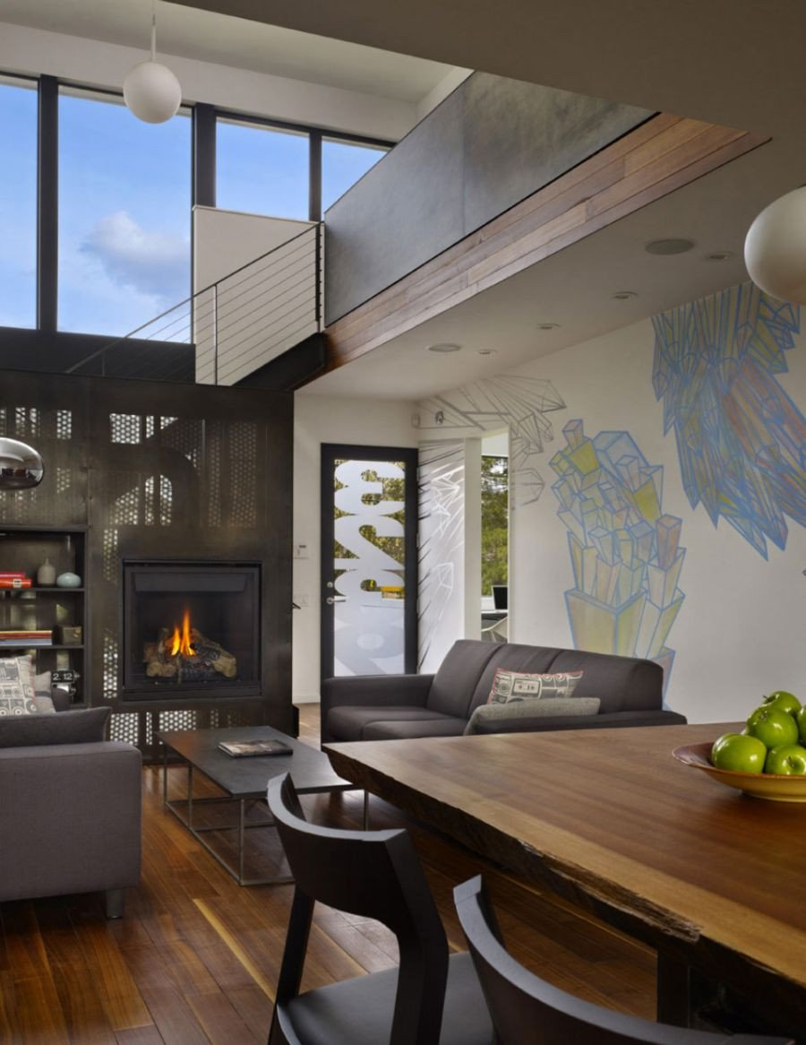 Contemporary Chic Living Room Inspirational Art Filled Interior Beet Residence Ushers In Contemporary Chic