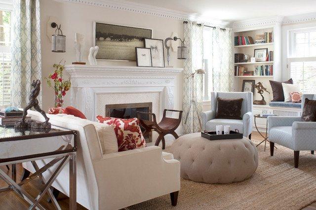 Contemporary Chic Living Room Inspirational Denver Country Club Home