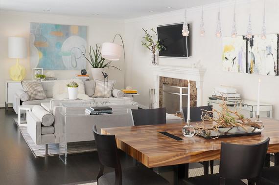 Contemporary Chic Living Room Lovely Chic Modern Decor Interior Design
