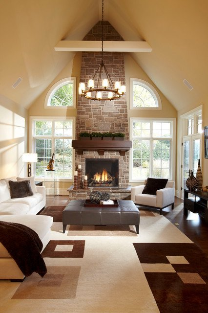 Contemporary Chic Living Room Lovely Urban Chic Contemporary Living Room by Parkyn Design